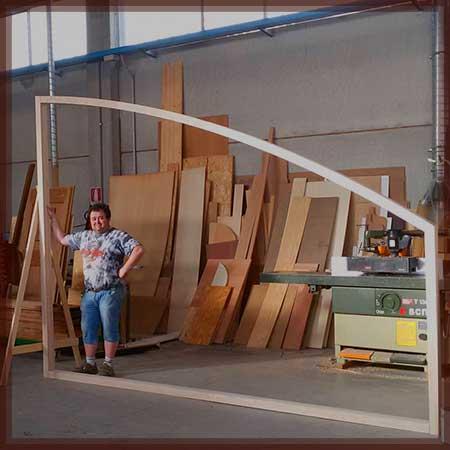 Produzione serramenti infissi arco trapezio Modena Sassuolo